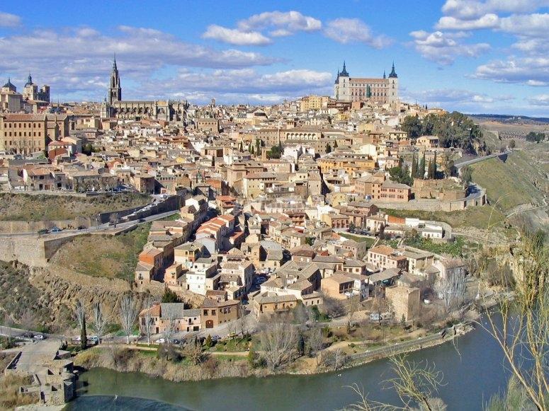 General view in Toledo