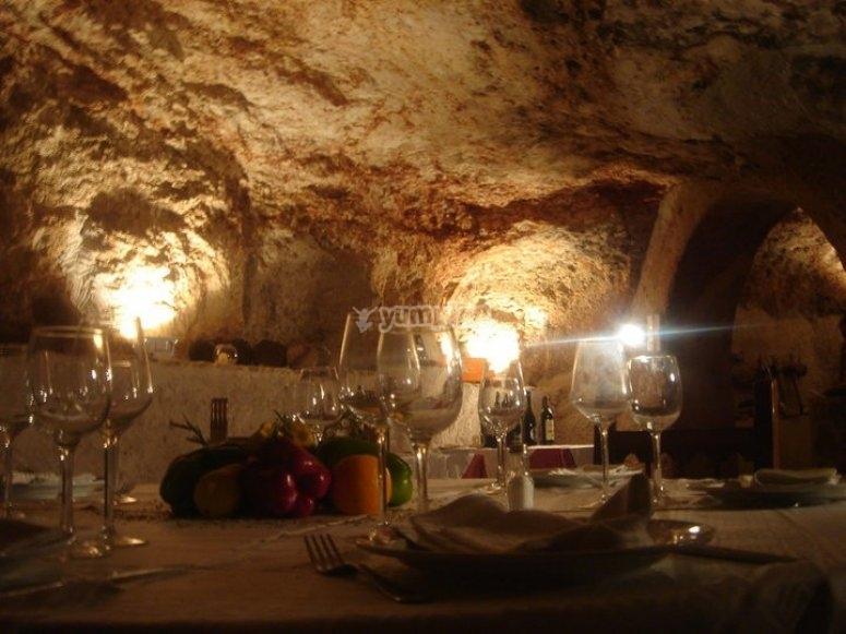 Magical dinner Toledo