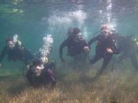 Rozando el fondo marino