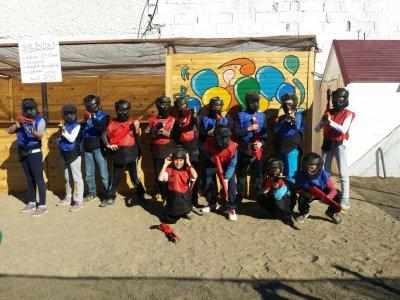 Paintball for children, Almería + photographs