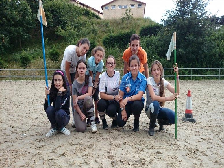 Equestrian game