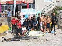 Grupo de alumnos del campamento