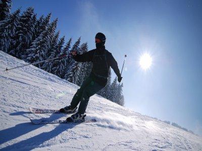Alquiler de equipo de esquí en Granada 1 jornada