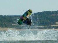 风筝冲浪kitesurfer地中海地中海标志