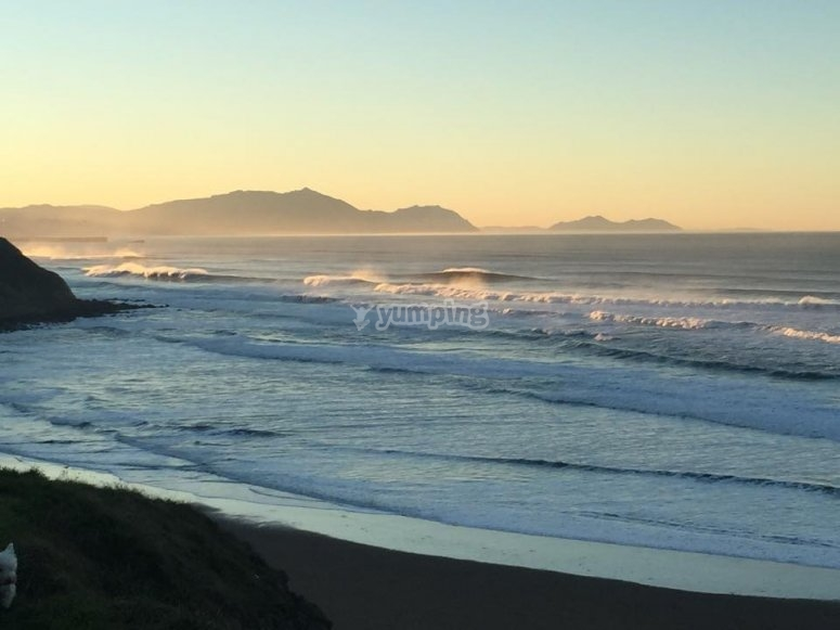 paisaje playa