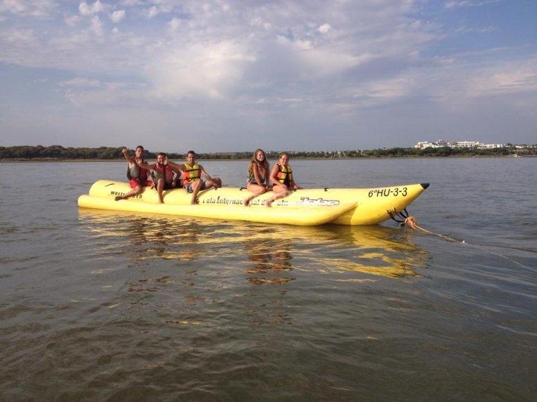 香蕉船的乐趣