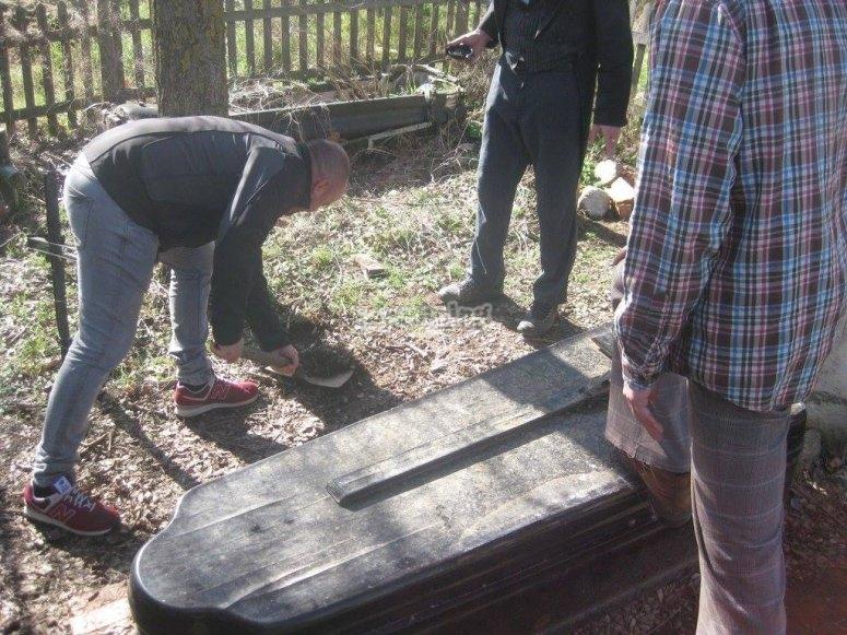 Enterrando
