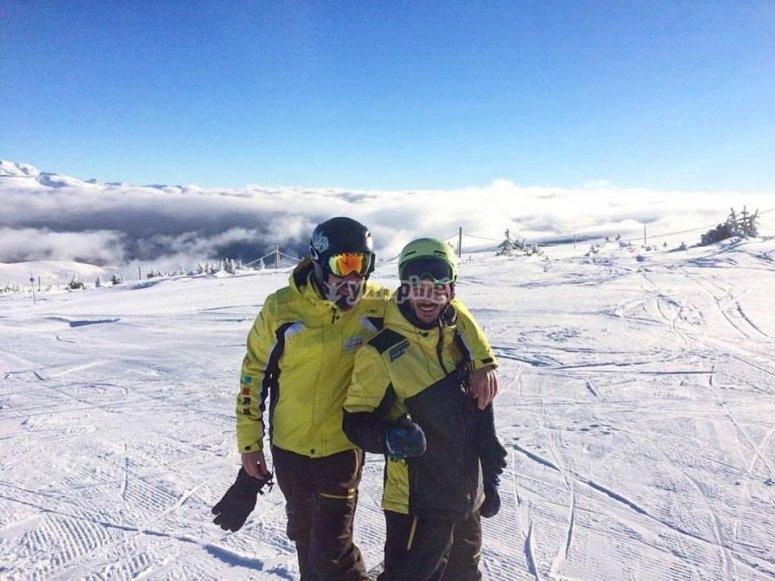 Dia de esqui en La Masella