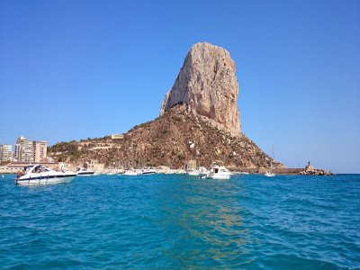 Boat ride to Rock of Ifach. Calpe.90 min
