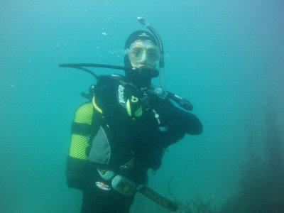 Bautismo de buceo en Pontevedra con foto