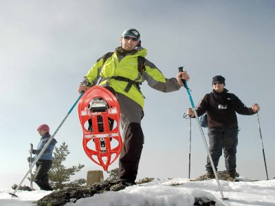 Alquiler de raquetas de nieve en Soria 1 jornada