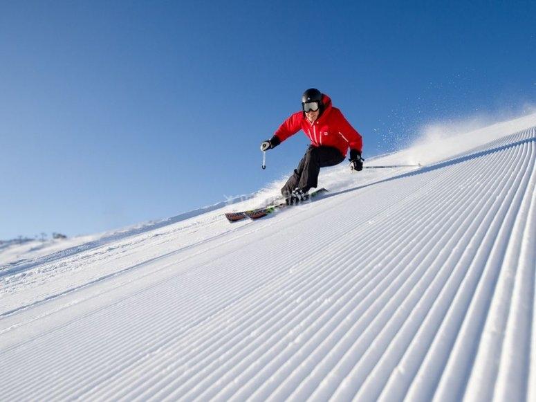 的滑雪课做好准备-享受阿斯顿