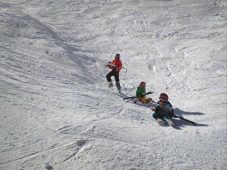 攀登滑雪坡