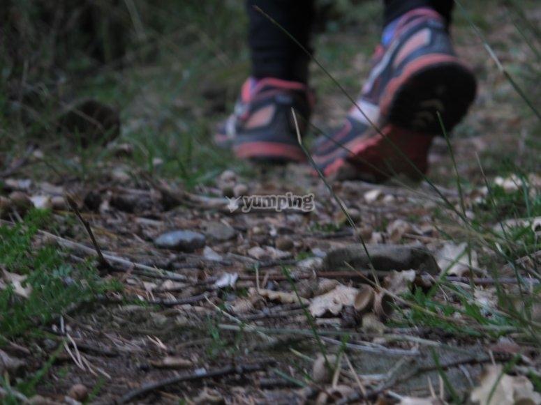 Running en el Alto de la Rapeda