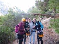 Climbing friends