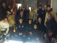 Participantes de la visita guiada