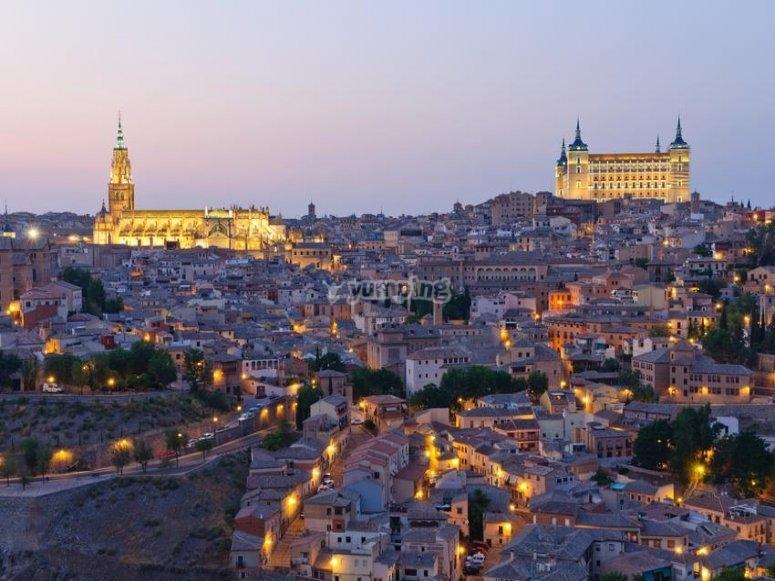 Toledo atardeciendo