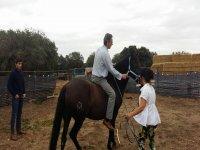 Montando a caballo por primera vez