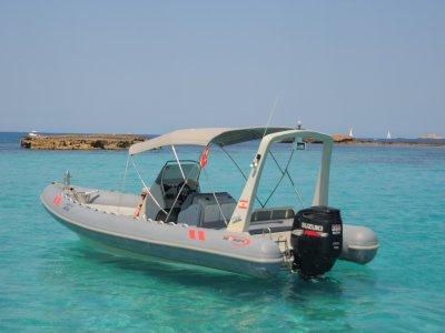 Alquiler embarcación Sea Rib's 760 Pto San Antonio