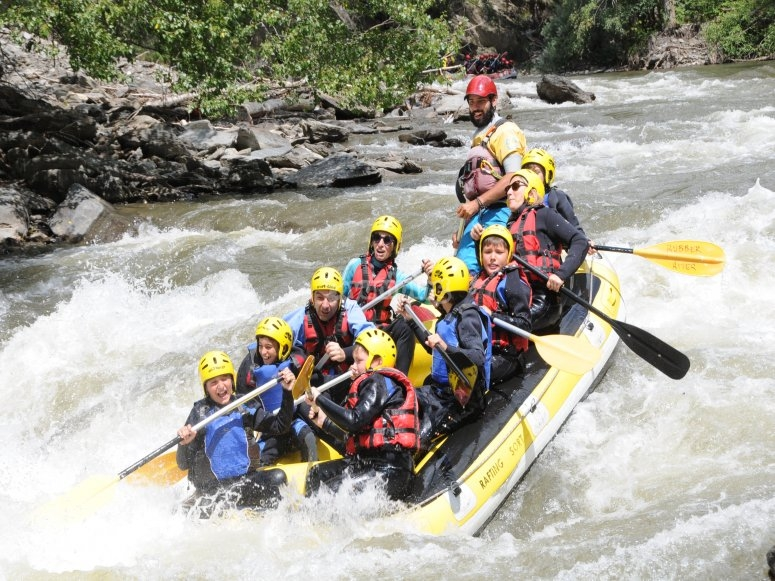 Rafting for kids