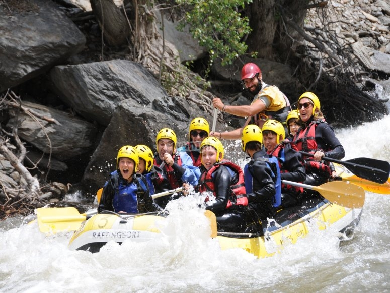 Rafting suitable for children