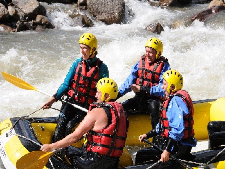 Rafting apto para niños