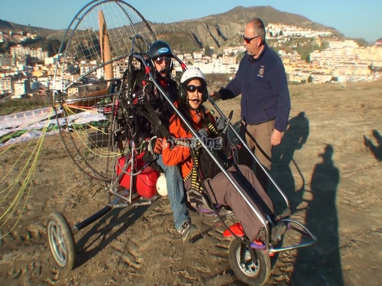 Paramotoring in Granada