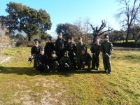 Paintball para niños en Piedralaves 100 bolas