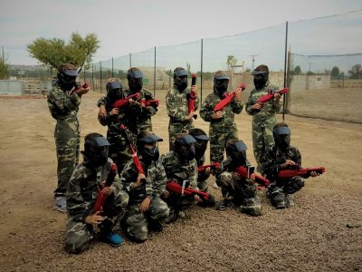 Kid Paintball, Torrejón de Ardoz - Unlimited Balls