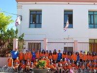 Alumnos campamento San Mateu