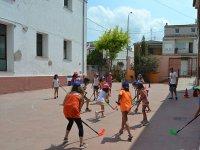 Hockey en el campamento de Castellon