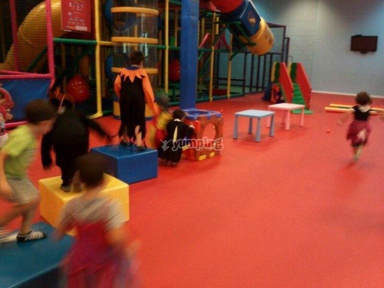 Children playground in Seville