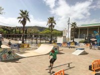 En el skate park