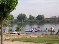充气游戏水上乐园河