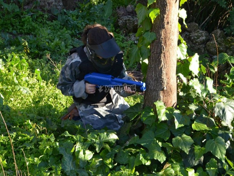 Paintball for children in Málaga