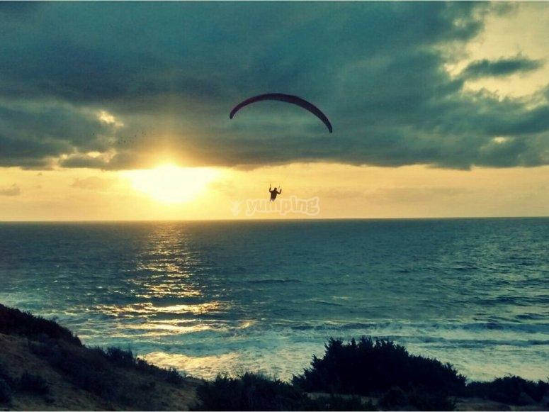 parachuting course