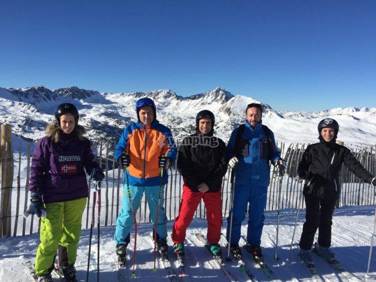 滑雪者团体