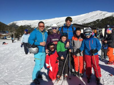 Family ski trip Grandvalira Easter adults