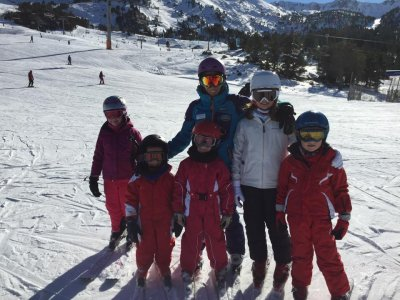 Familiar trip ski Granvalira Easterchildren