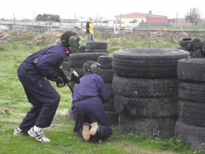 Paintball kids in Talavera de la Reina