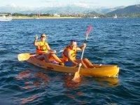 Kayak en Santander en parej
