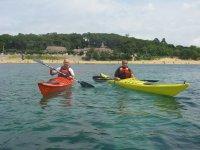 Saliendo en kayak desde Santander