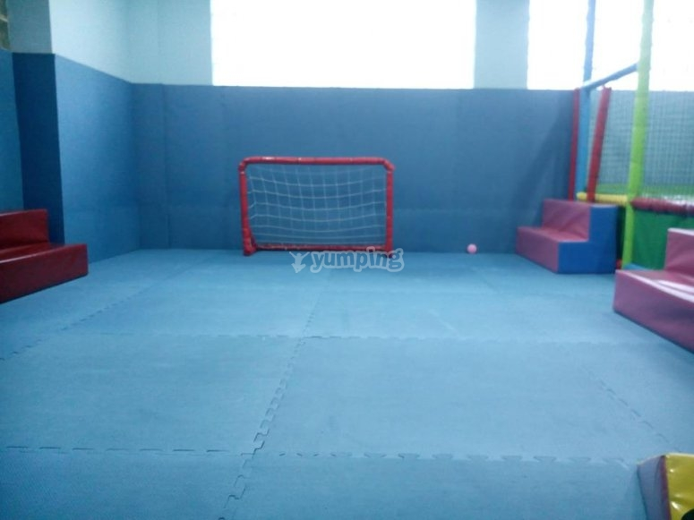 The foortball court