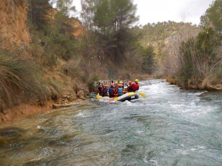 Rafting en el Valle del Júcar