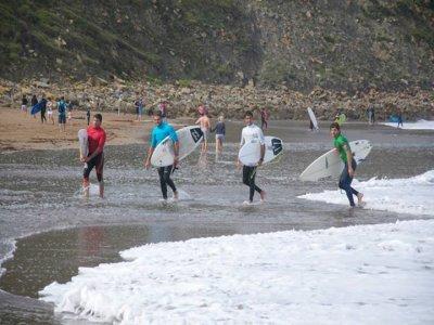 2 días de curso de Surf en Sopelana