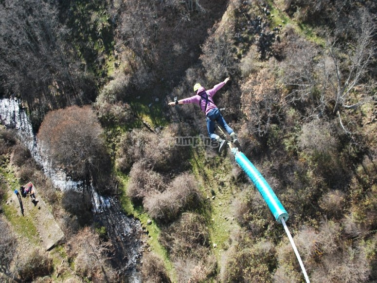 Bungee Jumping a Madrid