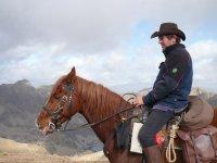 Ruta a caballo en el valle