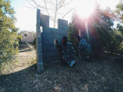 Paintball a Villanueva Messiah con 300 palline