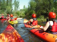 Kayaking routes in Alto Tormes