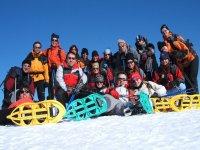 Ruta de raquetas de nieve en La Rioja para grupos